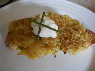 Potato and Parsnip Fritters