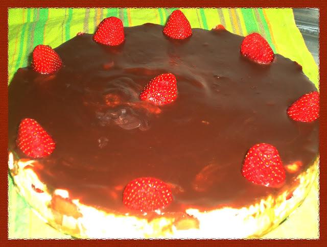 Receita: Torta delícia de morango
