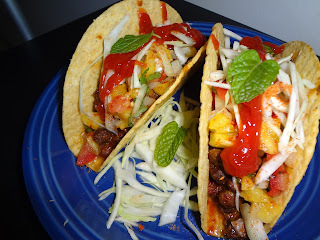 kadalai kurry Taco