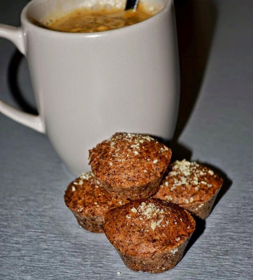Paleo muffin pogácsa magokból