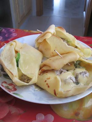 Recette originale : Crêpes fourrées cuites au four (sans gluten)