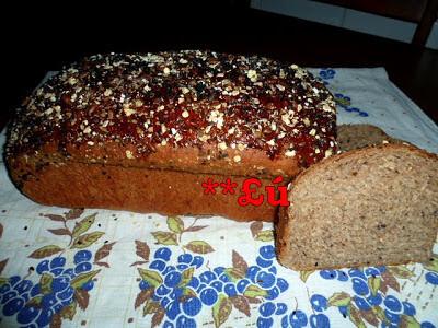 como fazer pão de forma integral com farinha de soja