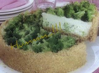 Torta  Fria (Cheesecake) de Brócolis