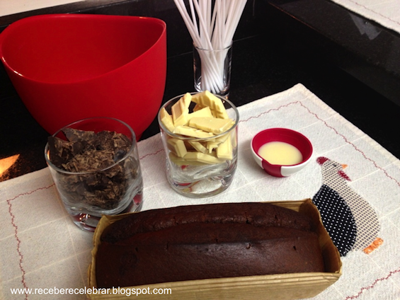 como fazer pirulito de chocolate colorido passo a passo