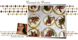 Canapé de Parma