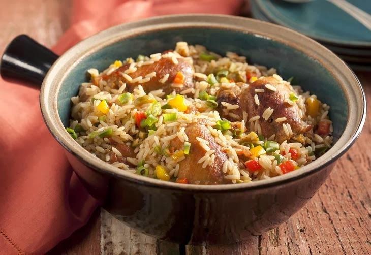 arroz com galinha gaucho