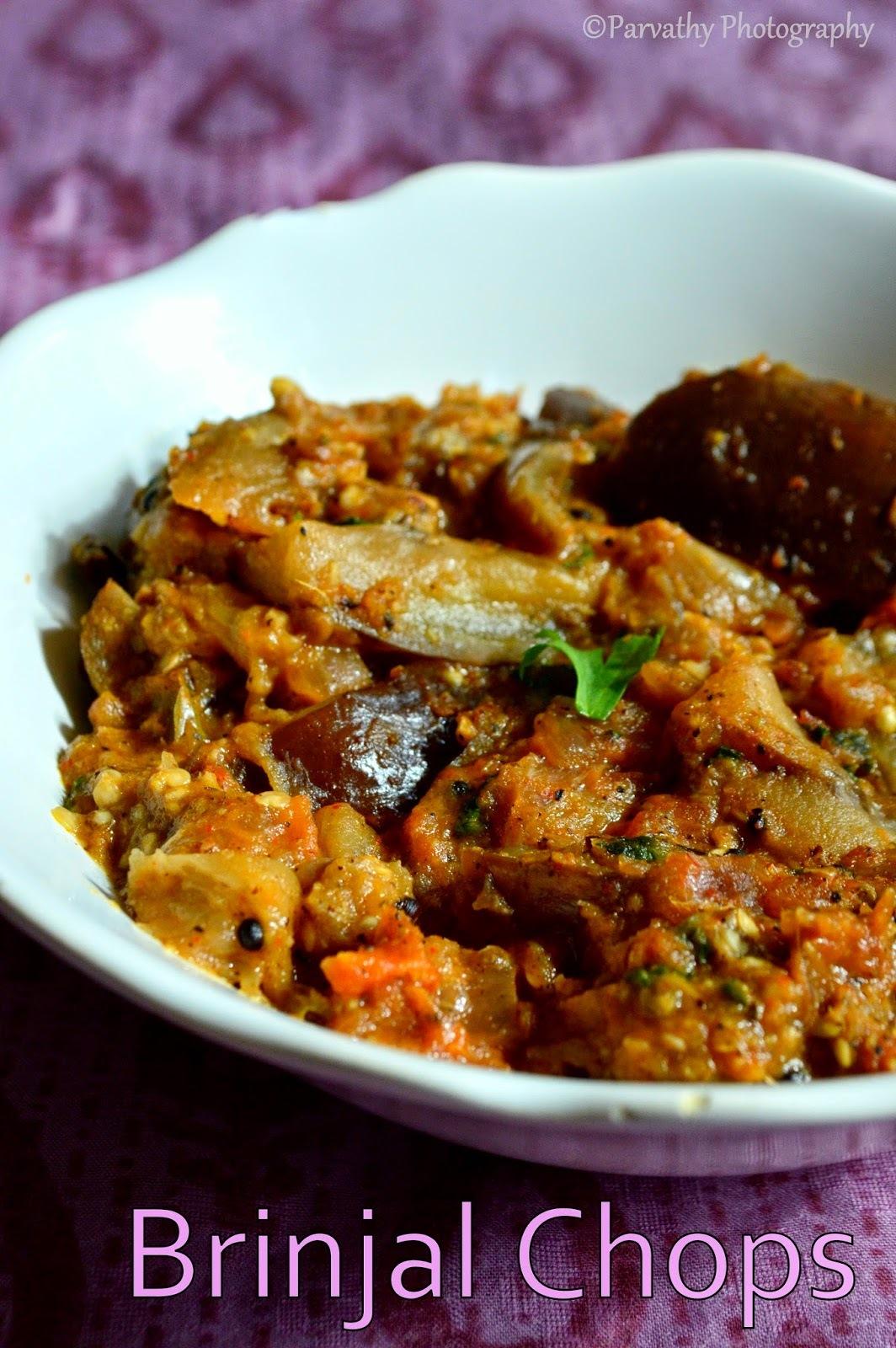 Brinjal Chops Recipe | Kathirikkai Chops