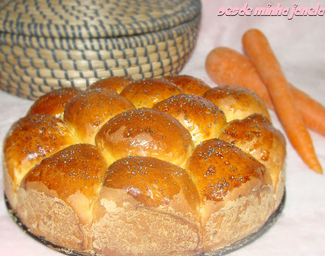 Pãezinhos de cenoura