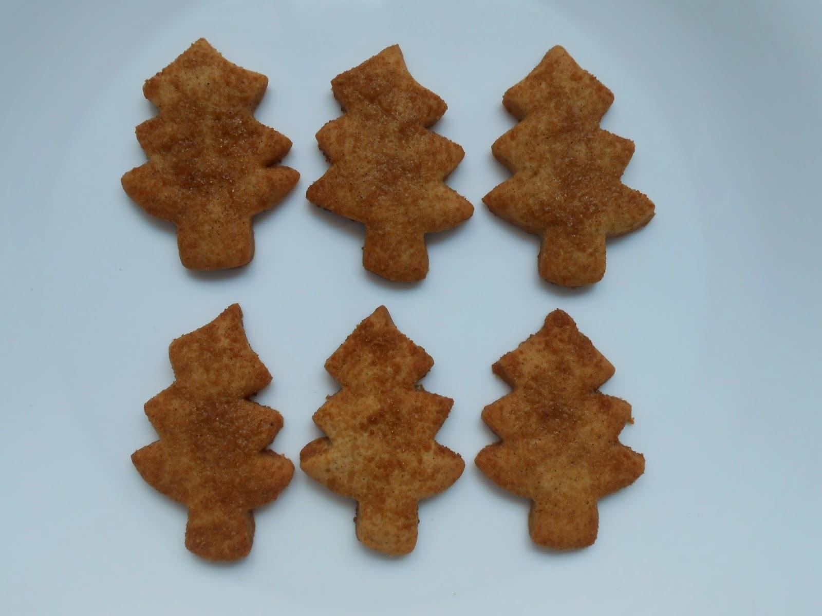 Biscoitos de Chocolate e Canela