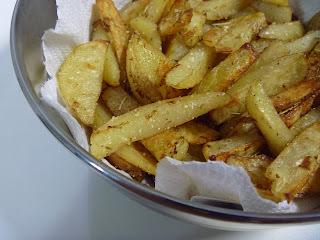 Para o feriadinho, Batata Palitinho :D (de forno ê!!!)