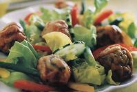 Almôndega de Tainha com Verduras