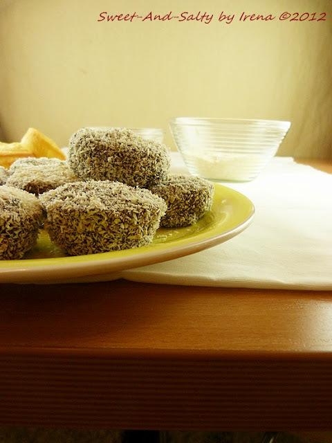 Mafini čupavci / Lamington Muffins