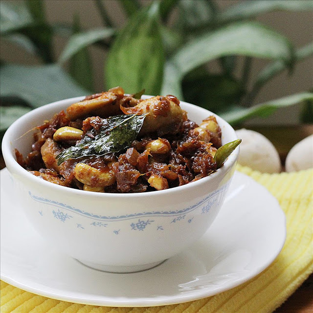 mushroom curry for chapathi