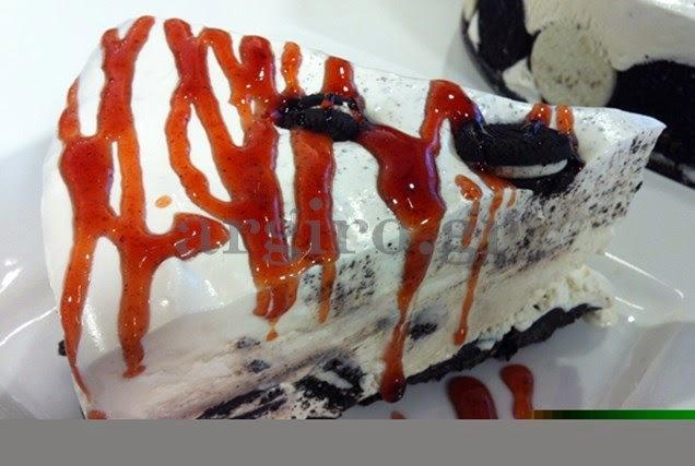 Φανταστική τούρτα παγωτό oreo από την Αργυρω!