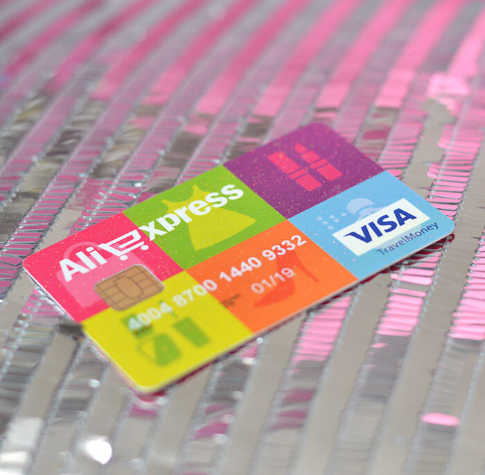 #Pingou! - Compras no AliExpress com cartão pré-pago