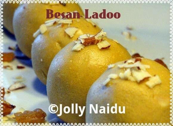 Homemade Besan Ladoo Recipe