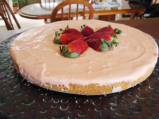 Torta de Morango (nesquik)