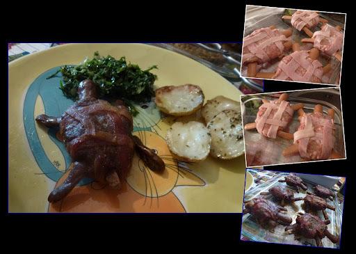 como preparar carne de tartaruga