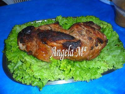 Paleta de porco assada