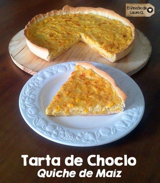 Receta de Tarta de Choclo • Quiche de Maíz • Tarta de Humita