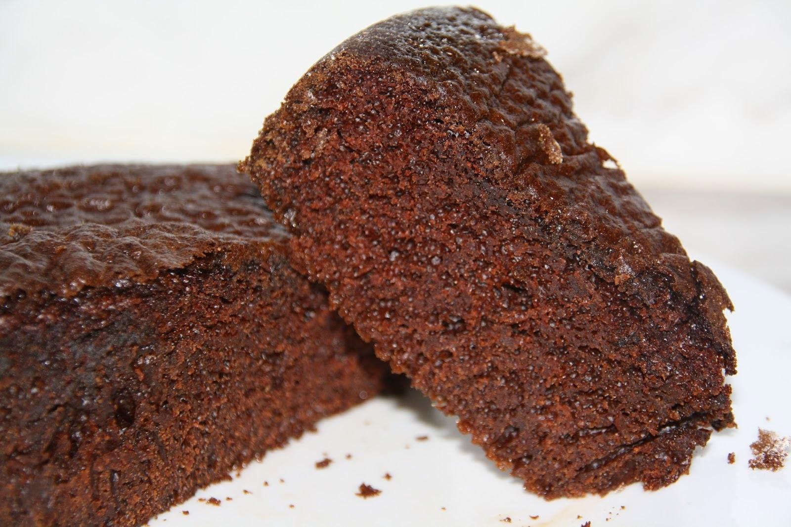 Receita Bolo de Chocolate com Biomassa de Banana Verde
