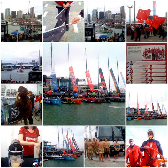 Volvo Ocean Race, leaving Auckland today