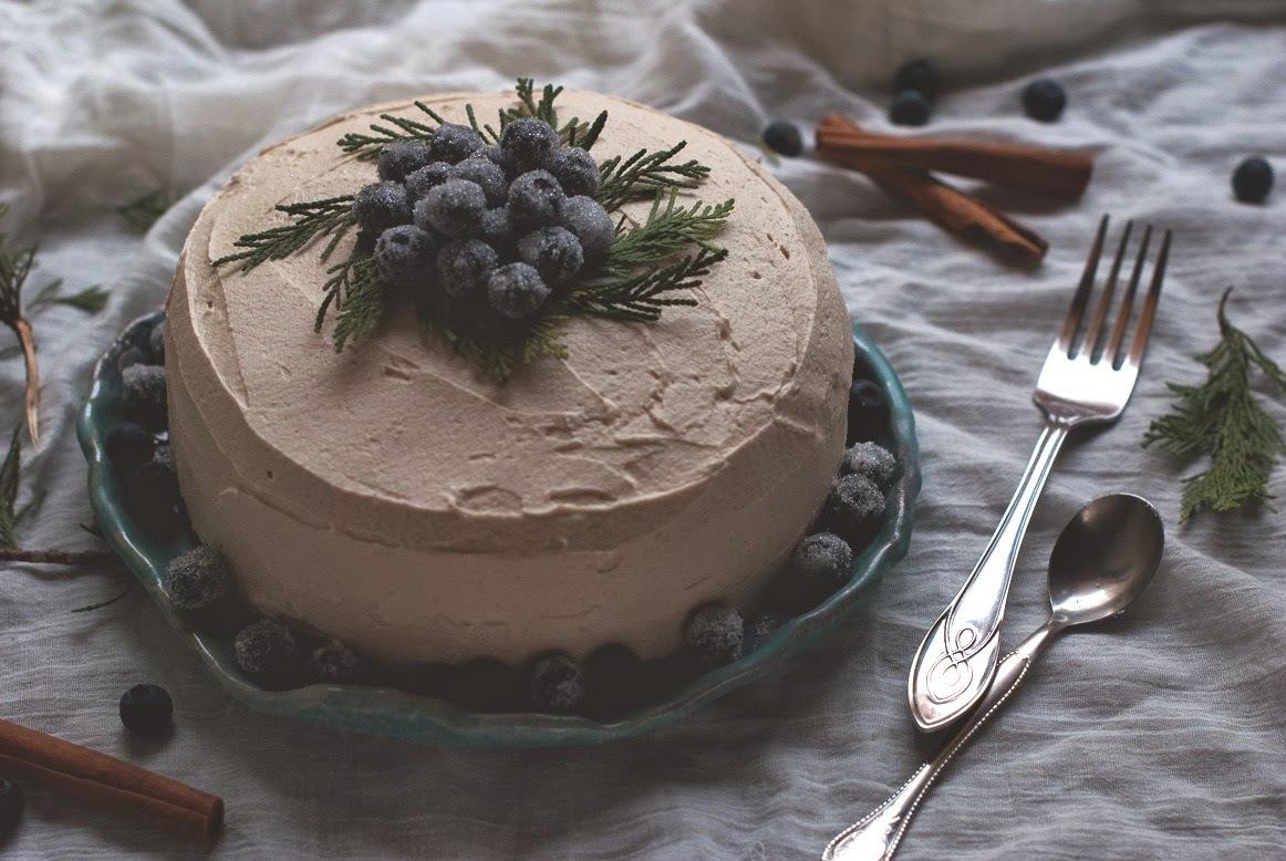 Čokoládová torta so škoricovým krémom