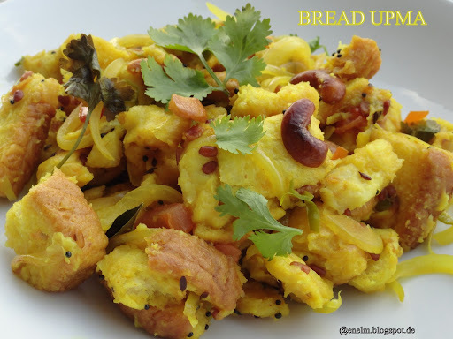 bread upma in hindi