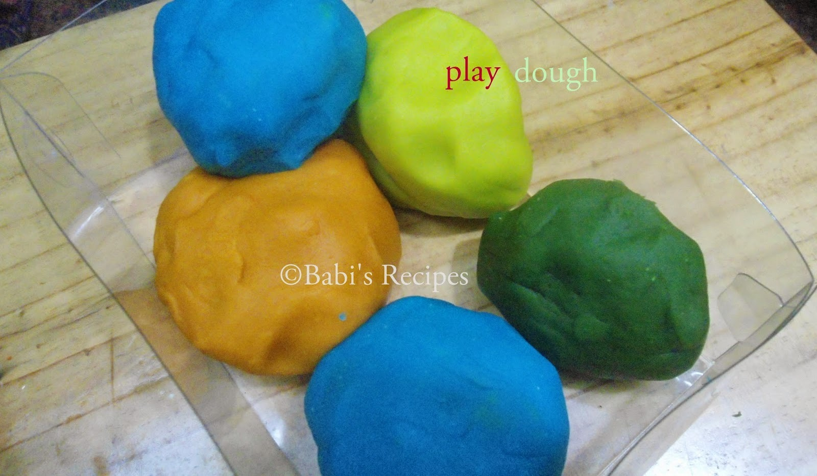 Homemade Play Dough (Play-Doh) | How to make play dough( with video)