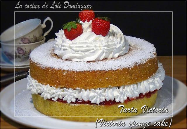Tarta Victoria (Victoria sponge cake)