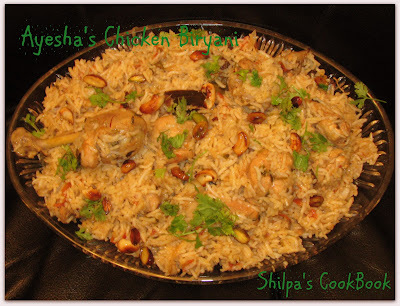 Ayesha's Khandani Chicken Biryani