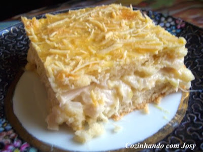 Torta de Alho Poró e Palmito da Sonia (Suné)