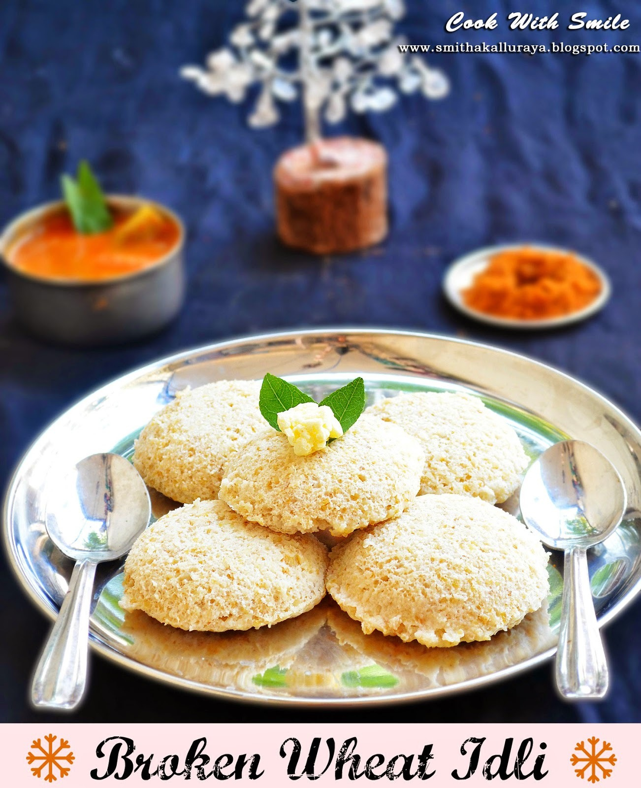 how to make dalia idli