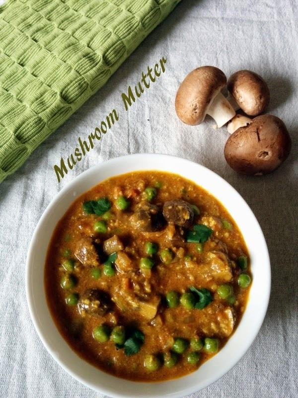 Recipe of Mushroom Matar | How to Make Mushroom Mutter