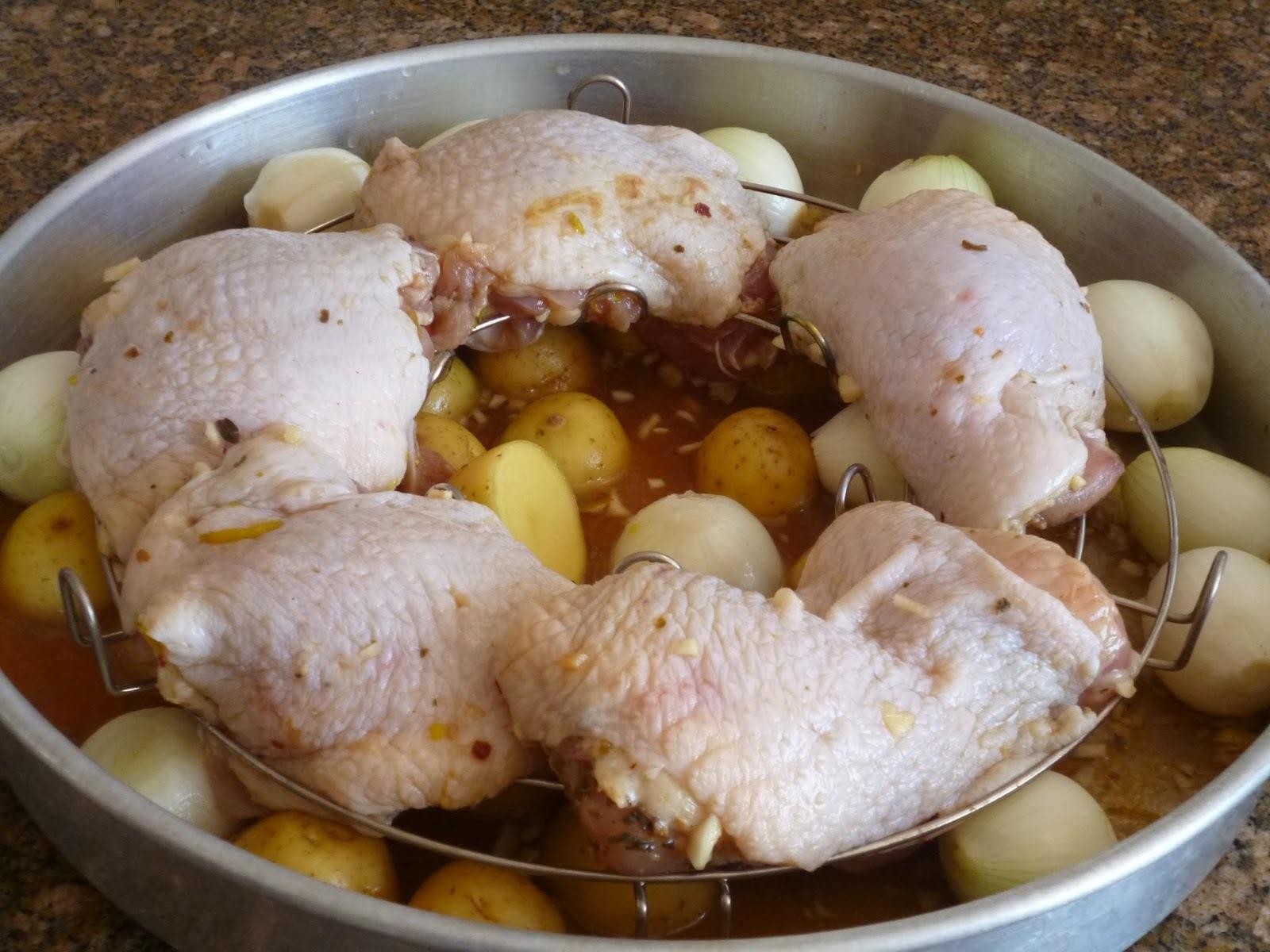 coxa de frango com farofa ana maria braga