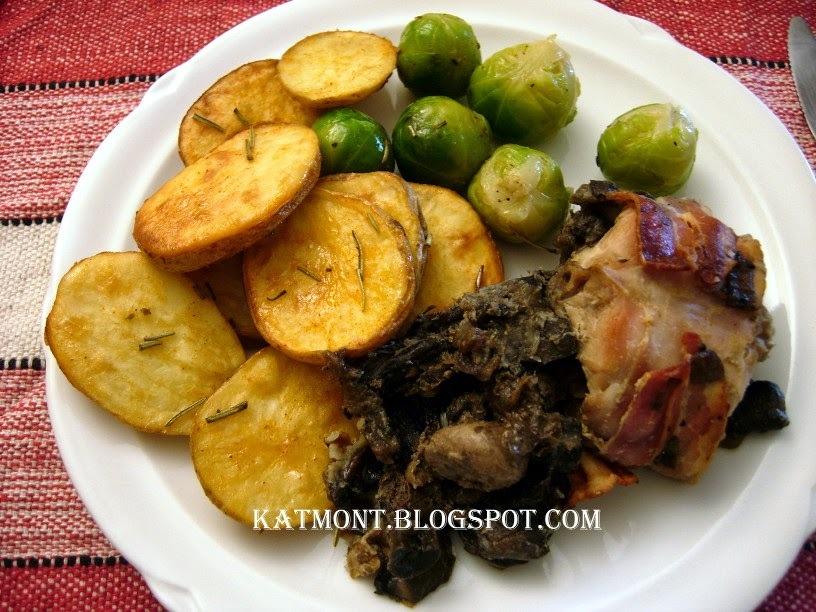 Batatas rústicas ao forno - Pommes de terre rustiques au four