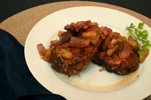 Balsamic Pineapple Boneless Pork Chops