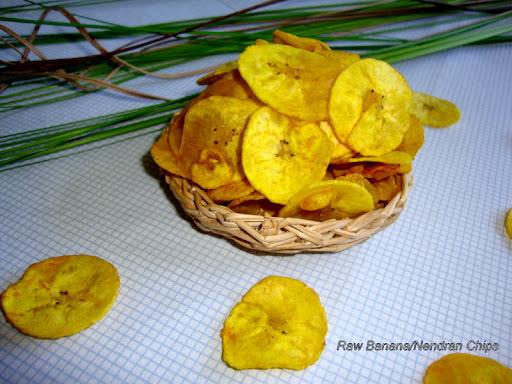Raw Banana Chips / Kerala Nendran Vazhakkai Chips / Plantain Chips / Nendran Banana Chips