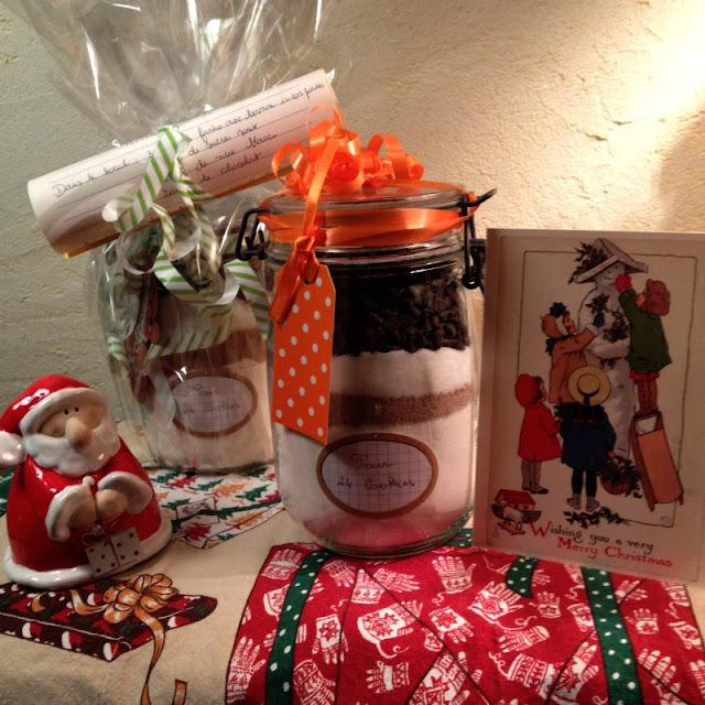 """Cookies en kit """"comme des cadeaux pour Noël"""""""