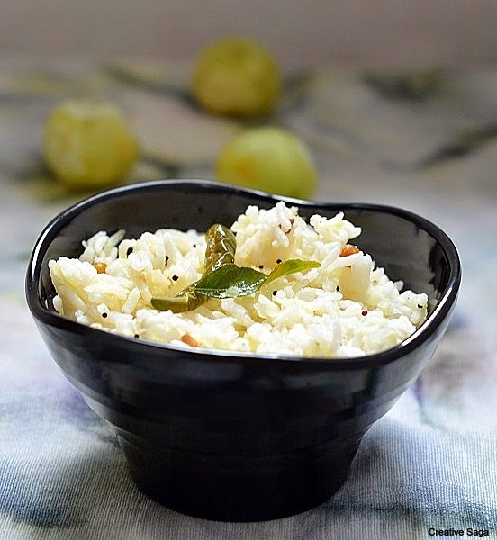 Nellikai saadam- Gooseberry rice - south indian  rice recipes