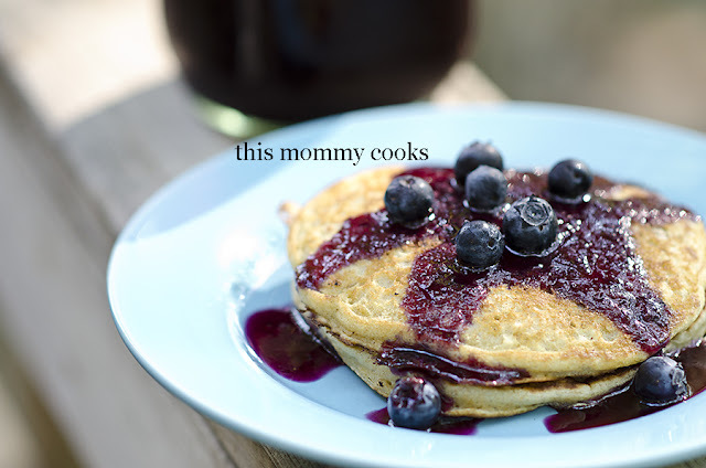 Blueberry Pancakes {sweet treat tuesday}