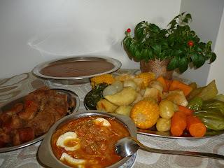 lombo cozido com calabresa e bacon