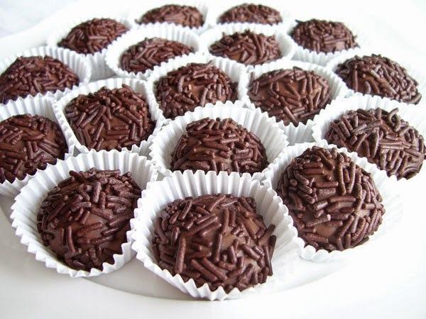 Receta de Bombones Brigadeiro • Trufas de Chocolate
