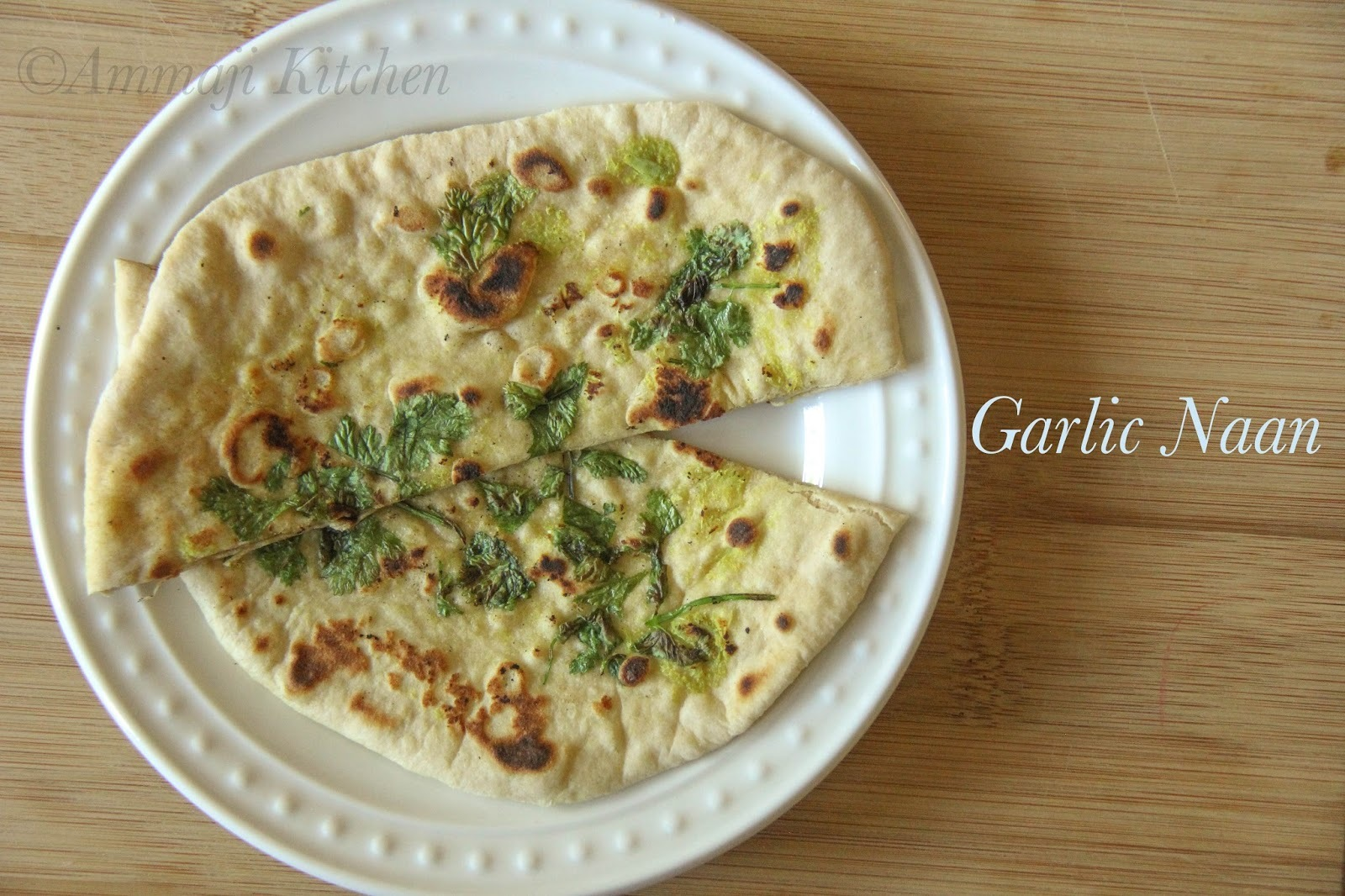 Garlic Naan With Out Yeast
