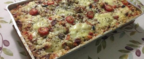 Pizza de tabuleiro