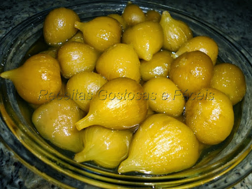 como fazer doce de figo em calda