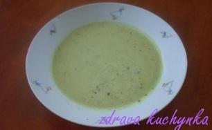 Jemná cuketová polévka