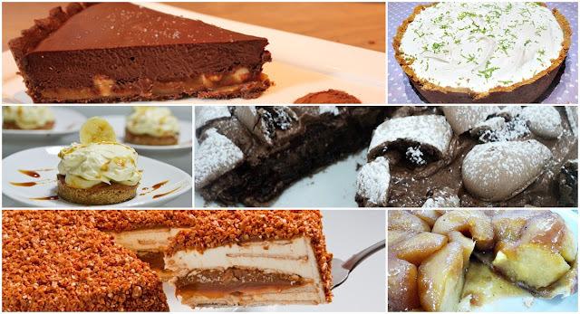 12 receitas de tortas geladas irresistíveis