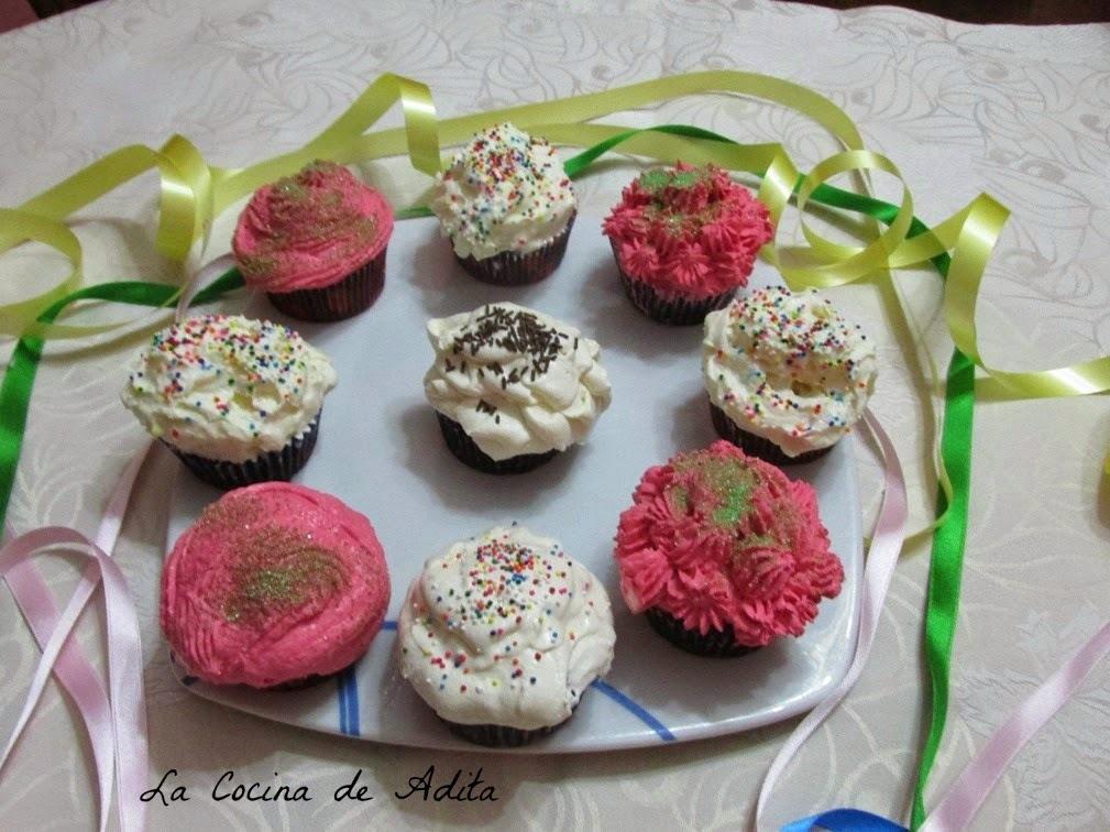 Cupcakes  red  velvet