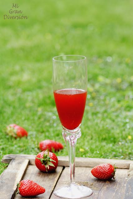 Vinagre de fresa (casero)